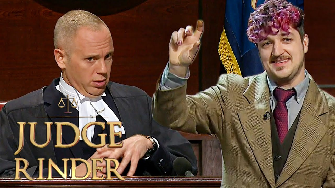 Judge Rinder's Accidental Innuendos Leave The Courtroom In Tears Of Laughter   Judge Rinder
