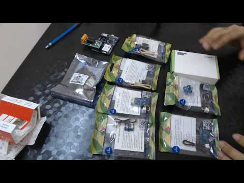 Azure MT3260 Seed Studio Development Broad & Sensor Kit Unboxing