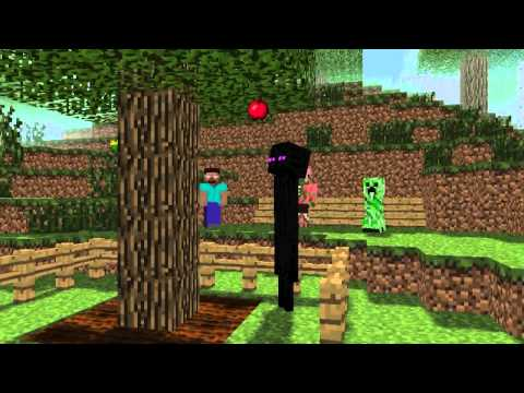 Minecraft Мультики - Школа монстров: Фермерство и Рыбалка (Майнкрафт анимация)
