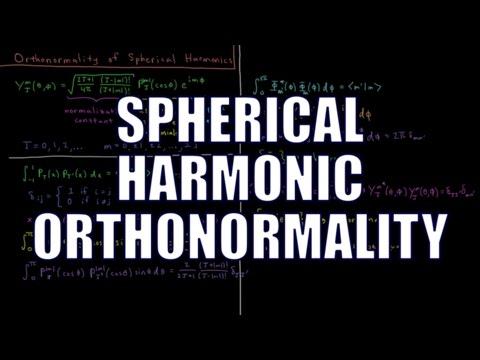 Quantum Chemistry 6.11 - Orthonormality of Spherical Harmonics