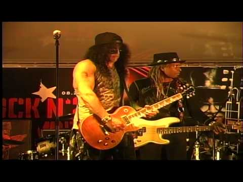 Blues in Gm Rock N 2 Remember Benefit Slash