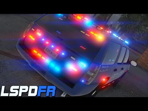 GTA 5: LSPDFR #141 - Legit Christmas Tree Tahoe