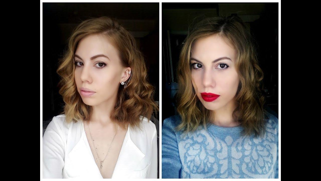 Как сделать кудри на короткие волосы феном
