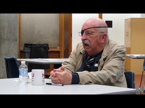 Gene Wolfe at NIU Library - April 3, 2013