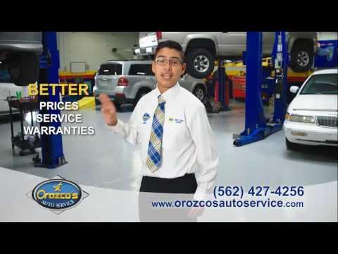 Orozco's Auto Service – Future CEO
