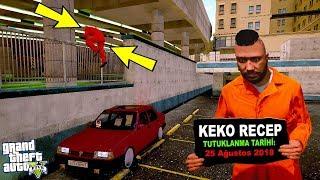 ÇILGIN RECEP TOFAŞLA HAPİSTEN KAÇIYOR! - GTA 5 KEKO MODU