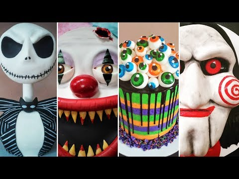 AMAZING HALLOWEEN CAKE COMPILATION!