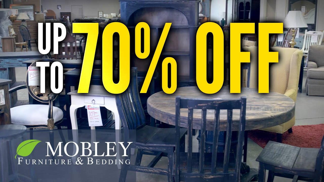 Mobley Furniture Outlet: New Year Clearance Event