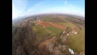 BRUNO FERRAZZA - Sub-Terminal Jump Test from Hot Balloon
