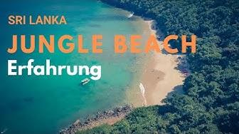 Jungle Beach Unawatuna unsere Erfahrung Sri Lanka Reiseroute schönste Strände Sri Lankas