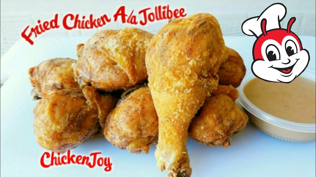 How To Cook Fried Chicken Ala Jollibee Jollibee Chicken Joy Recipe Fried Chicken Ala Jollibee Youtube