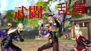 BnS 武闘乱舞 暗・剣・拳vs剣・双・召 戦いこそが…