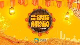 Arraiá de Santo Antônio em Jacobina - Live Junina - 12-06