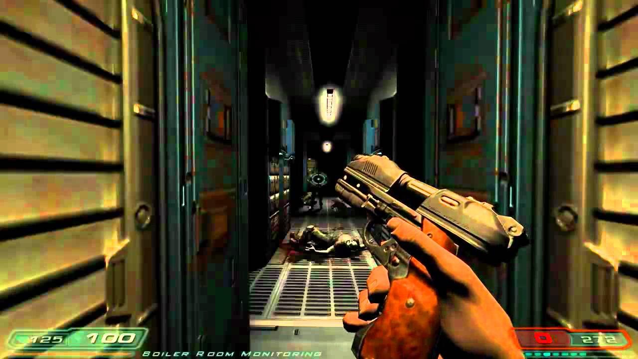 Lets Play Doom 3 Part 8 Im Mr Chaingun Youtube