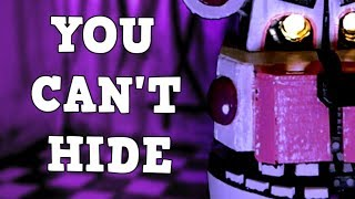 "FNAF SISTER LOCATION SONG | ""You Can't Hide"" by CK9C  [Live Action Music Video]"