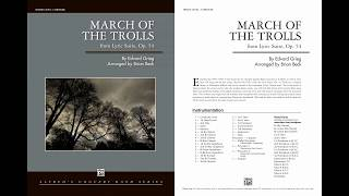 March of the Trolls, arr. Brian Beck – Score & Sound