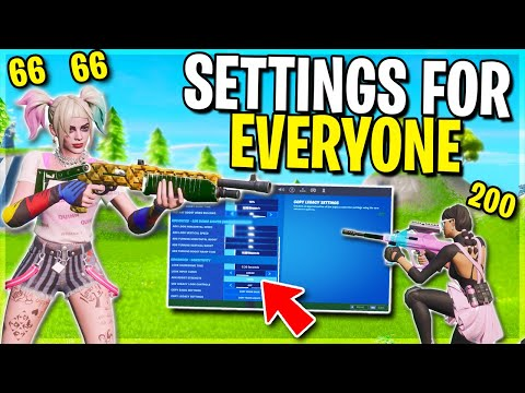 Best Settings For EVERY Controller Player.. (Console + PC)