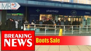 Boots Sale | Why have people queued around the block for Boots?