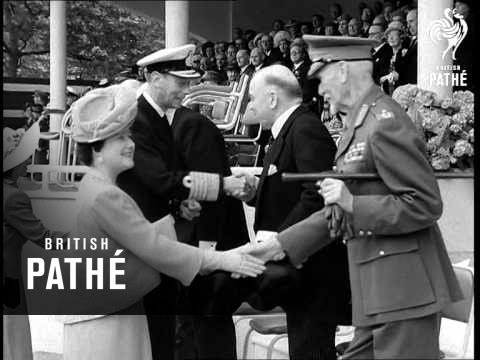 Royal Party Leave Buckingham Palace (1946)