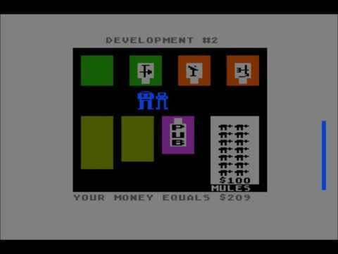 M.U.L.E. for the Atari 8-bit family