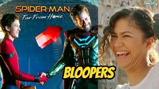 Spider-Man Far From Home Hilarious Bloopers & Gag-Reel | Tom Holland Bloopers 2019