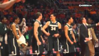Michigan State Shows Toughness In 60-53 Win At Illinois