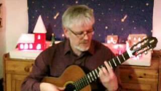 """Stille Nacht, heilige Nacht """"Silent Night, Holy Night"""" - Weihnachtslied Gitarre"""