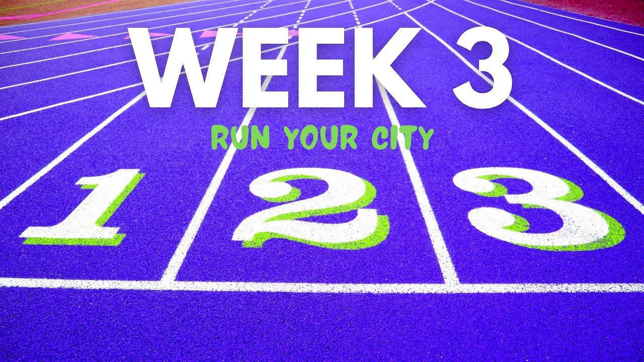 Week 3, longest race!