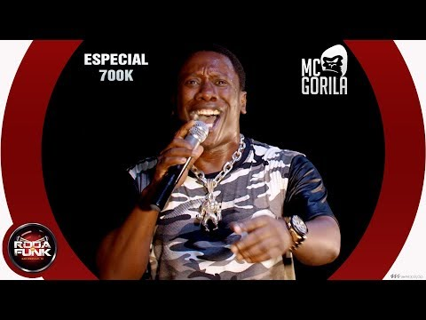MC Gorila :: Ao vivo no palco da Roda de Funk - Vídeo Especial 700K - 18 anos