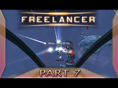 Freelancer - Part 7: Ice fields and escorts and ambushes, oh my!  (with commentary) PC