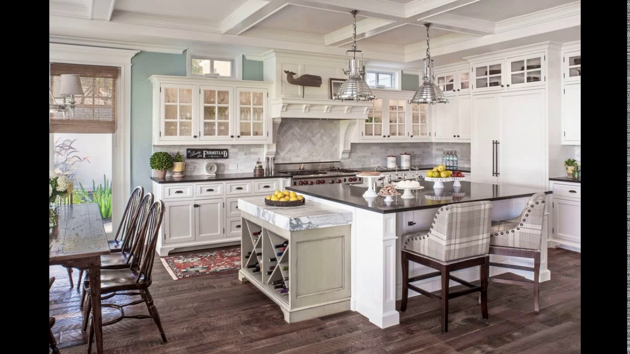 Kitchen designs cape cod style homes - YouTube