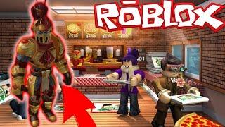 "I BECAME A PIZZA MAKER!! ""DIVERTATION"" - Roblox"