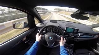 BMW 2 series Active Tourer 218i POV test drive