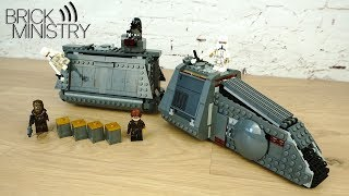 LEGO Star Wars 75217 ● Имперский транспорт [Обзор]