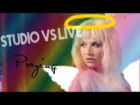 "Kesha - ""Praying"" Studio vs Live COMPARISON!"