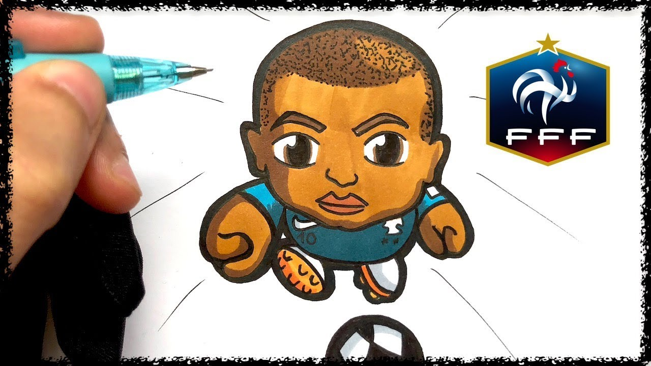 Baby Pop Comment Dessiner Mbappe