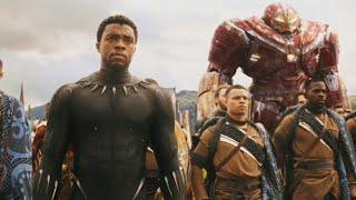 Wakanda Battle Scene Tamil(Part2)   Avengers Infinity War Tamil Scene(2018)