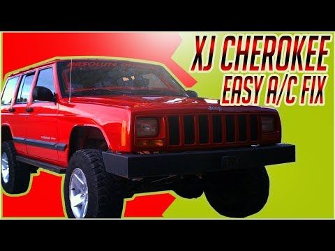 2001 jeep cherokee xj a c clutch and shim removal youtube. Black Bedroom Furniture Sets. Home Design Ideas