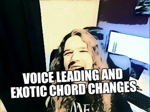 Voice Leading Chord Progressions - Exotic Chord Changes and Chords Out of Key