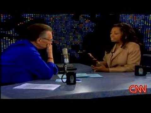 Star Jones on Larry King