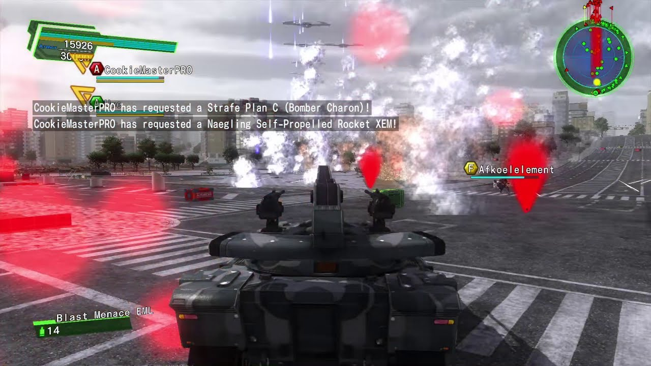 EDF Earth Defense Force 4.1 Online Mission 96 Demon Army [3xAR Update] Inferno