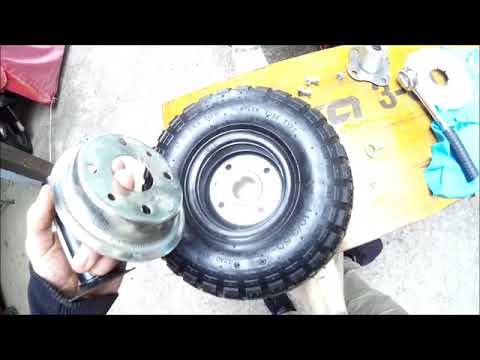 Ruote pneumatiche gommate per motozappa fai da te for Youtube motozappa