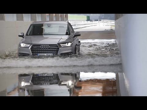 "Audi Quality Assurance ""INKA"" Tests in Ingolstadt"