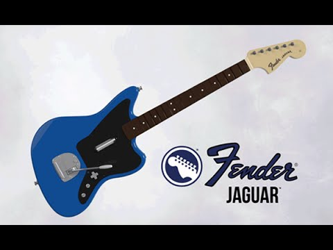 NEW Fender™ Jaguar™ Guitar Controller for Rock Band!