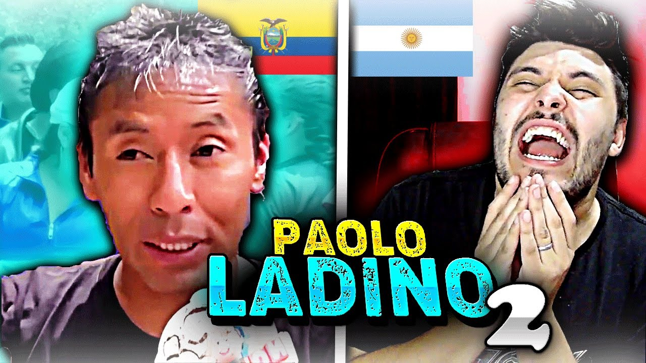 💥ARGENTINO reacciona a PAOLO LADINO humorista ECUATORIANO | cada vez mejor😱🤣 | Parte Nº 2