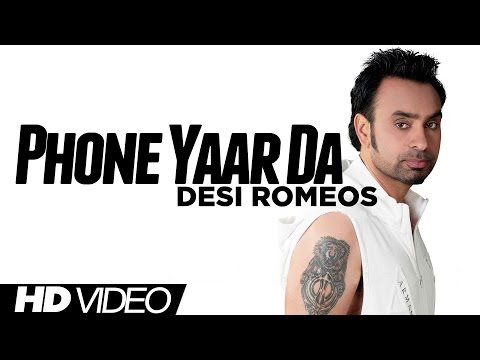 Babbu Maan - Phone Yaar Da [Official HD Video] [Desi Romeos] 2012 - Latest Punjabi Songs