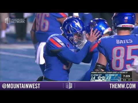 CONDENSED GAME: Utah State Aggies vs Boise State Broncos