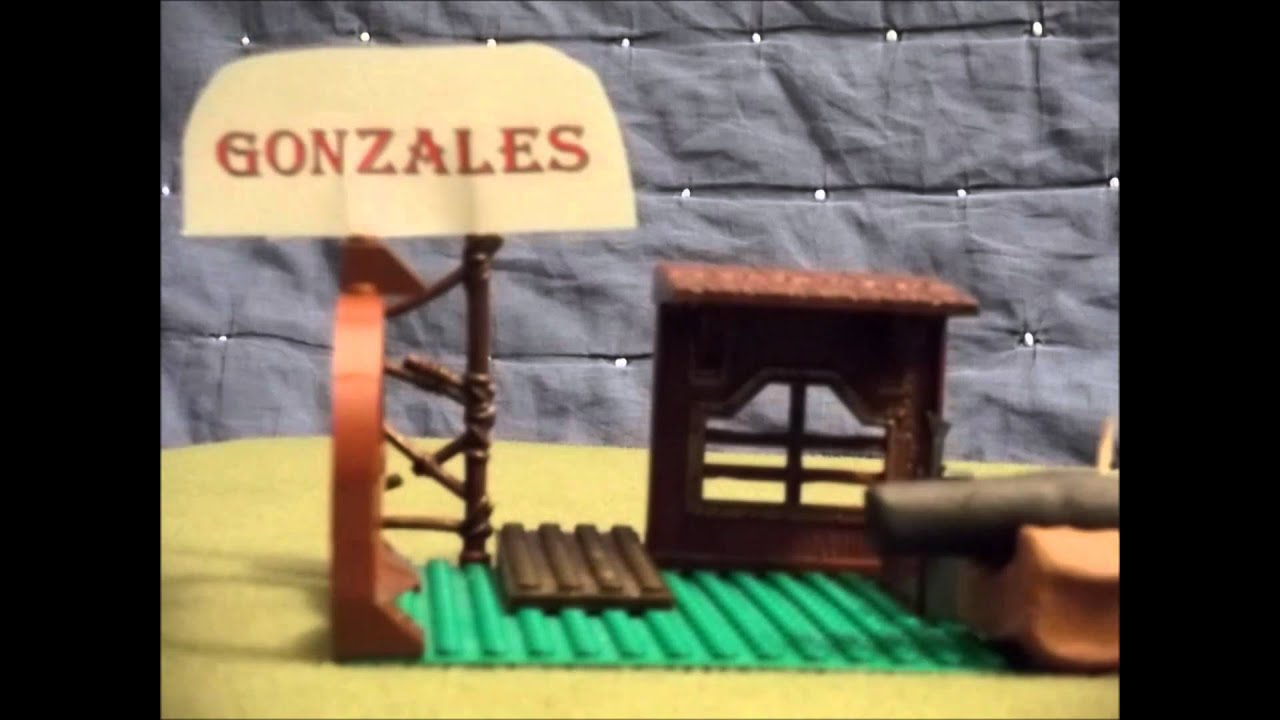 The Battle of Gonzales - by Simon Thomas - YouTube