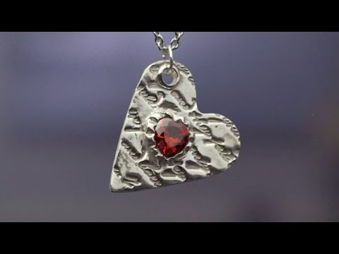 Art Clay® Silver Here's My Heart Necklace
