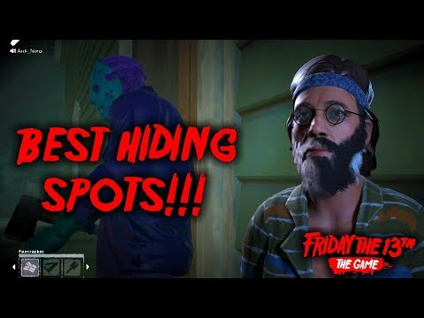 My favorite hiding spots in F13 | learn where to hide and how to pull it off!
